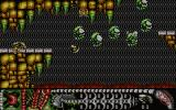 Alien World Atari ST Level 1: first formation attacking