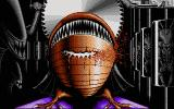 Alien World Atari ST Game over picture