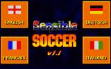 Sensible Soccer: European Champions - 92/93 Edition Atari ST Language in-game