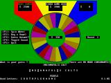 VGAWHEEL DOS In this round the players have used up all the consonants and now a guess must be made
