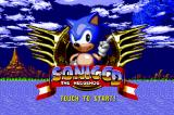 Sonic CD iPhone Title screen.