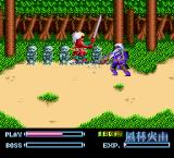 Takeda Shingen TurboGrafx-16 Little statues