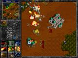 Warcraft II: Tides of Darkness DOS Mages have several spells, the toughest part for the player is to use these spells in the middle of a hectic battle