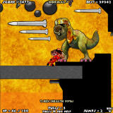 Drop Dead 3 Browser The final boss (T-Rex) fight in World 5