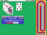 Bicycle Limited Edition DOS Bicycle Cribbage: Title Screen