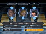 Who Wants to Be a Millionaire: Party Edition Windows Here a multi-player game has been selected. Each character must be named and given a face and a costume
