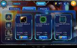 Galaxy Defense Android Buying upgrades between levels.