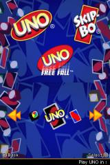 Uno / Skip-Bo / Uno Freefall Nintendo DS Select your game
