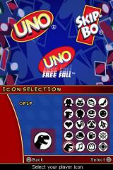Uno / Skip-Bo / Uno Freefall Nintendo DS Profile creation