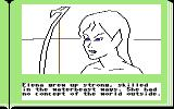 Gamma Force in Pit of a Thousand Screams Commodore 64 Elena comes of age.