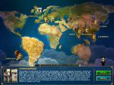 7 Wonders II iPad Game progress is shown on this world map
