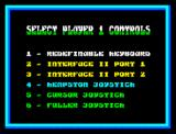 Golden Axe ZX Spectrum Players controls