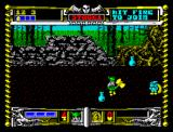 Golden Axe ZX Spectrum Increase your magic powers