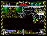 Golden Axe ZX Spectrum Go sign after killing all the enemies on board