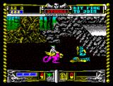 Golden Axe ZX Spectrum Tail hit dragon