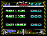 Golden Axe ZX Spectrum Final score