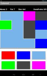 Coloroid Android Beginning, simple level