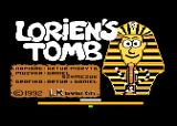 Lorien's Tomb Atari 8-bit Title screen