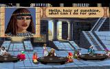 Quest for Glory III: Wages of War DOS The welcome woman
