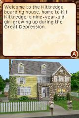 American Girl: Kit Mystery Challenge Nintendo DS The Kittredge residence. Bonus points for Webfoot in making it true to its book depiction, too.