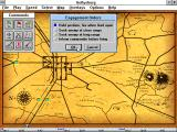 Gettysburg: An Interactive Battle Simulation Windows 3.x Selecting the Engagement Orders