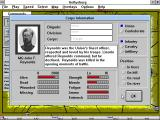Gettysburg: An Interactive Battle Simulation Windows 3.x Corps Information