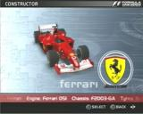 Formula One 2003 PlayStation 2 The Scarlet Ferrari