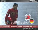 Formula One 2003 PlayStation 2 Michael Schumacher