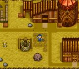 Harvest Moon SNES The life of a farmer: Planting seeds on newly plowed soil.