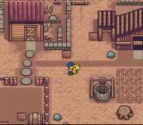 Harvest Moon SNES Take you puppy out for a walk, doesn't he look cute?