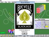 Bicycle Blackjack: Title Screen