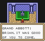 Quest: Brian's Journey Game Boy Color Grand Abbott