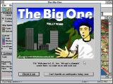 The Big One Windows 3.x Title Screen