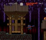 Musya: The Classic Japanese Tale of Horror SNES Wooden Japanese building