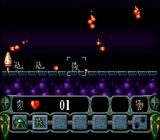 King Arthur's World SNES My fault - fireballs destroyed my army.