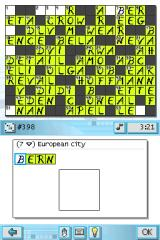 CrossworDS Nintendo DS Crosswords vary in size, from small to those that fill the entire screen.