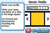 CrossworDS Nintendo DS You need to create a profile in order to start the game.