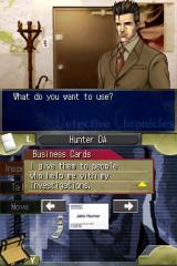 Jake Hunter: Detective Chronicles Nintendo DS Episode 1 - Going through your inventory.