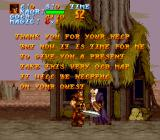 Legend  SNES Some dialogue