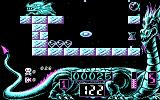 Netherworld DOS CGA - Level 1 - collecting diamonds and an hourglass