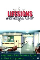 LifeSigns: Surgical Unit Nintendo DS Pondering about some things you've heard.