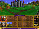 Heroes of Might and Magic Windows Knight castle on start