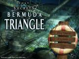 Lost Secrets: Bermuda Triangle Macintosh Title main menu