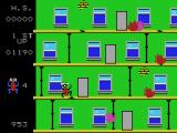 Frantic Freddy ColecoVision On the second level
