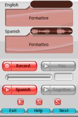 My Spanish Coach Nintendo DS You can practice your pronouncing via microphone.