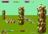 After Burner II Genesis Giant rocks
