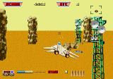 After Burner II Genesis Radar towers