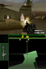 Call of Duty 4: Modern Warfare Nintendo DS Target practice.