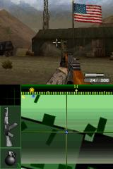 Call of Duty 4: Modern Warfare Nintendo DS Enemy is attacking our base... picked up this AK-74 from a fallen enemy soldier.