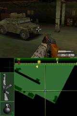Call of Duty 4: Modern Warfare Nintendo DS Time to enter the Hummer and break through the enemy assault line.